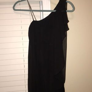 Black cocktail dress from BeBe!